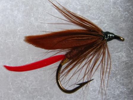 Irish Fishing Flies by Frankie Mc Phillips : FLY: Fiery Brown