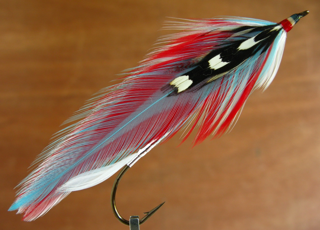 """#1 /"""" CHINESE NECK  /"""" SUPER NICE QUALITY GRAY STREAMERS /& SALMON FLIES"""