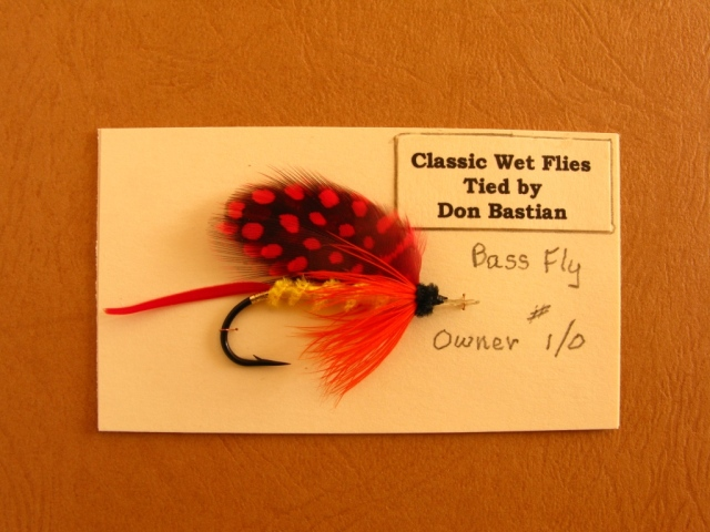 Owner Bass Fly.