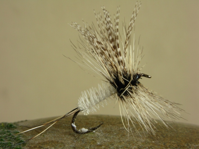 Dette Coffin Fly - an original tied by The Dette's Fly Shop in Roscoe, New York. the hook is a size #12 - 3x long.