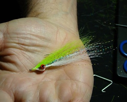 Clouser Minnow - tied by Bob Clouser.