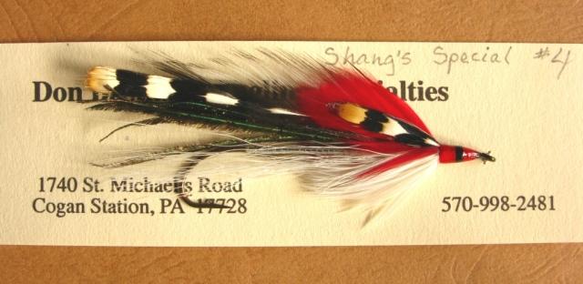 hang's Special - size #4 - 8x long- Gaelic Supreme Martinek