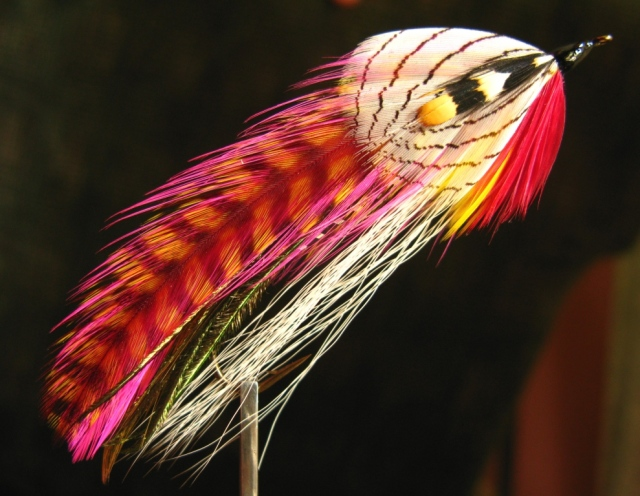 Carrie's Killer - original Rangeley style streamer patterns - created, tied, and photographed by Don Bastian.