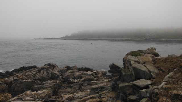 At the mouth of the York River, Maine.