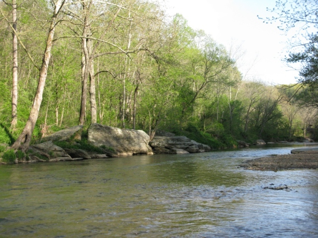 Downstream view