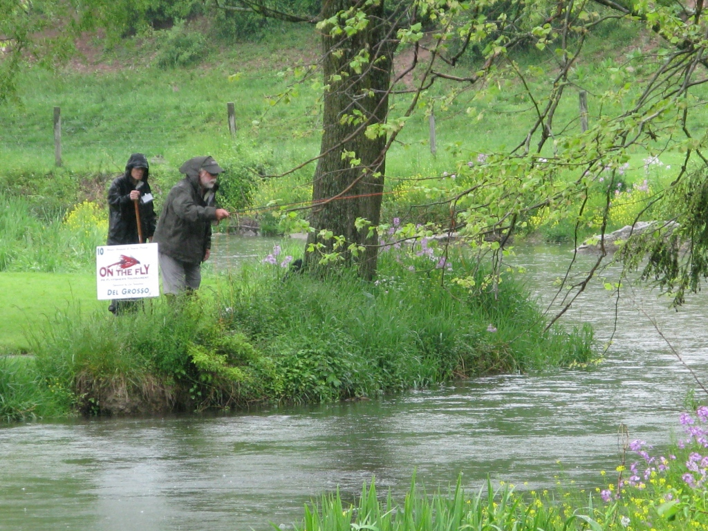 On the fly spruce creek pennsylvania don bastian wet for Fly fishing pa