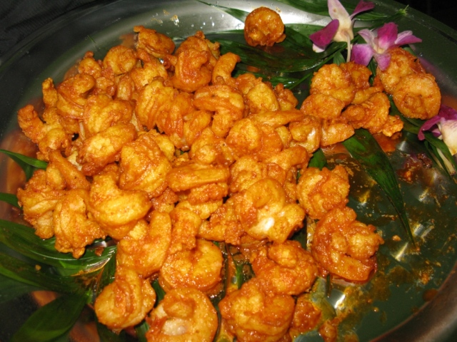 ...buffalo shrimp...