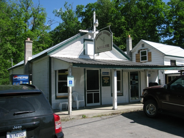 Penn's Creek Angler Fly Shop, located in the former Weikert Store on Weikert Road.