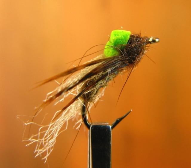 Bastian's Hi-Vis Mayfly (Sulphur) Emerger