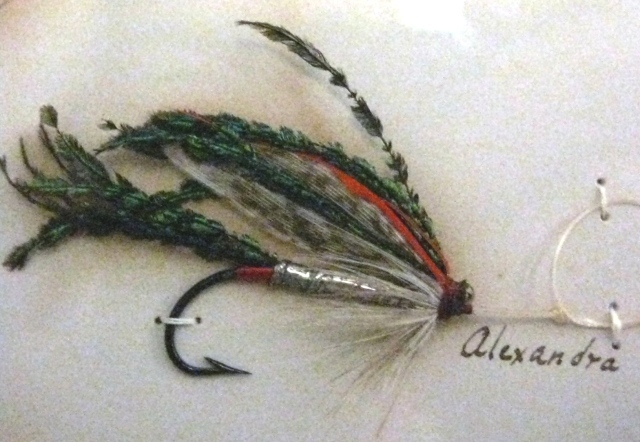 The Al4exandra Wet Fly - from the 1893 Orvis Display
