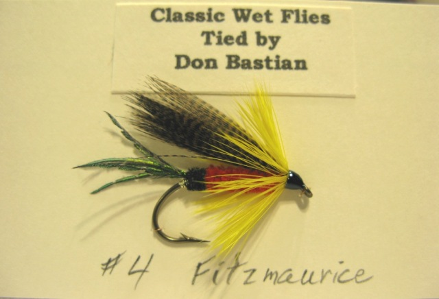 Fitzmaurice wet fly, recipe from Trout by Ray Bergman.