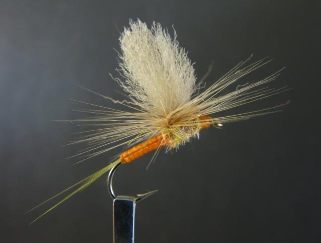 #14 Sulphur Parachute Dun.