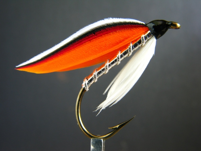 Brookie Fin - classic wet fly pattern from Helen Shaw's book.