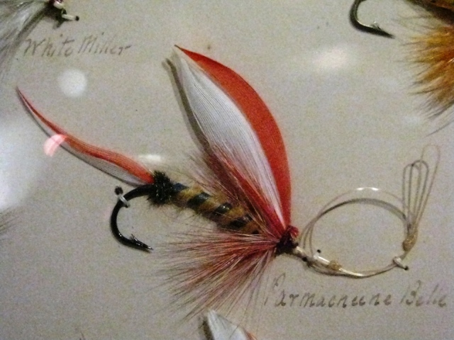 Parmacheene Belle from the 1893 orvis Display at the American Museum of Fly Fishing in manchester, Vermont.