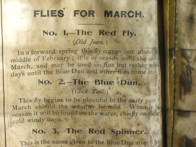 Flies for March.