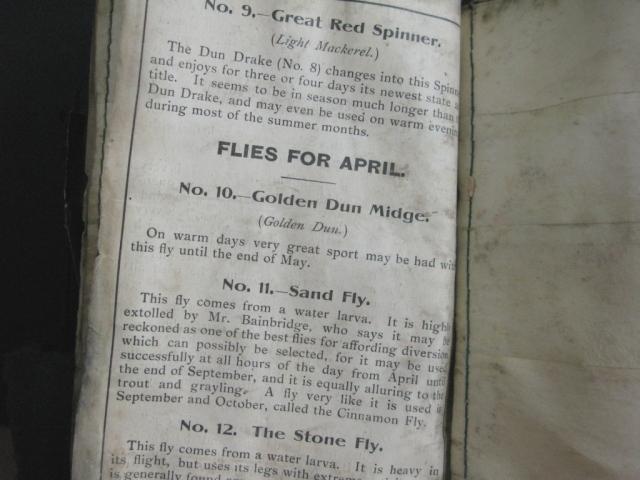 Flies for April.