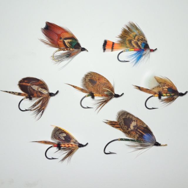 Project heasling Waters flies, tied by warriors in the program at Ft. belvior and MCB Quantico.