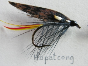 Hopatcong - #6. This pattern was mentioned in Mary Orvis Marbury's book, Favorite Flies and Their Histories, 1892, so it is well over one-hundred years old. She indicated that she would like to have included it among the Lake Flies.