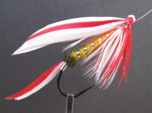 An accurate and historically correct reproduction of Henry P. Wells famous Parmacheene Belle. He originated the fly in 1876, naming it after Lake Parmacheene in Maine's Rangeley Lakes Region. This dressing is given by Wells in the 1883 book, Fishing With the Fly by Charles F. Orvis and A. Nelson Cheney.