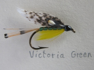 Victoria - #6; the green variation. There is also a Victoria with a dark blue body.