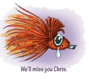 Goodbye Chris Helm...