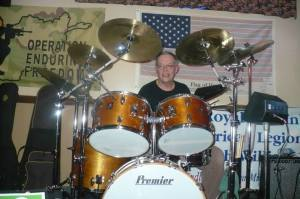 Don Bastian - Premier 1975 Powerhouse PD2500 drum kit.