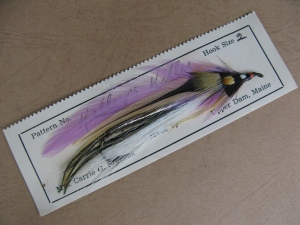 Kelley's Killer, original streamer tied by Carrie G. Stevens.