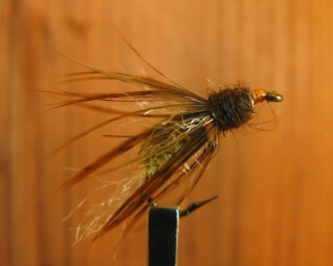Bastian's Floating Caddis Emerger.